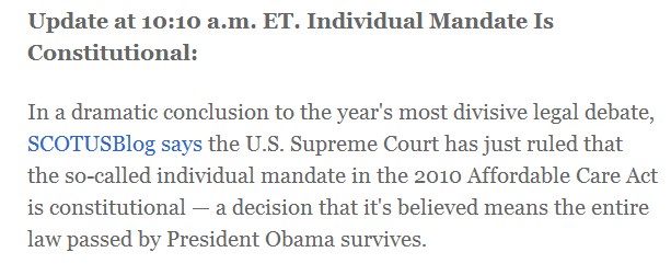 Were Getting Wildly Differing Assessments Scotusblog