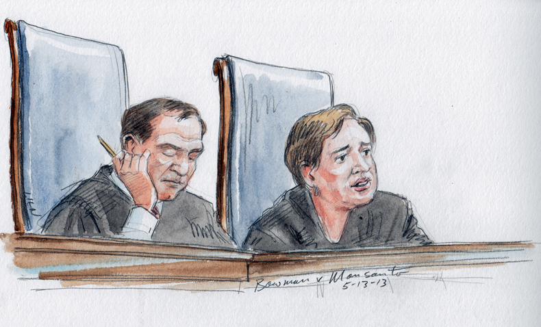 Justice Kagan delivers unanimous opinion (Art Lien)