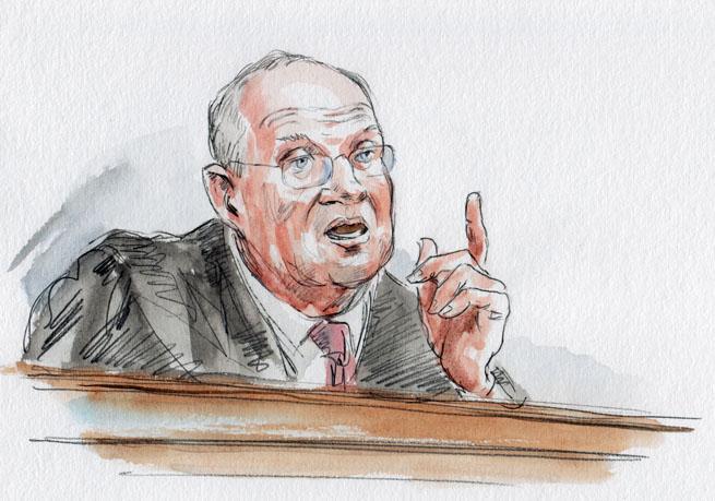 Justice Kennedy (Art Lien)