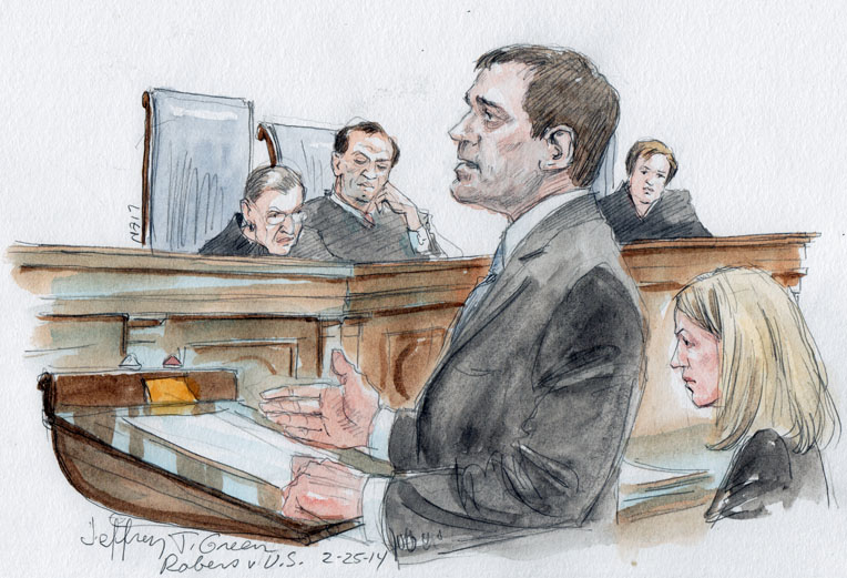 Jeffrey T. Green for petitioner,  Assistant to the Solicitor General, Sarah E. Harrington, seated on right (Art Lien)