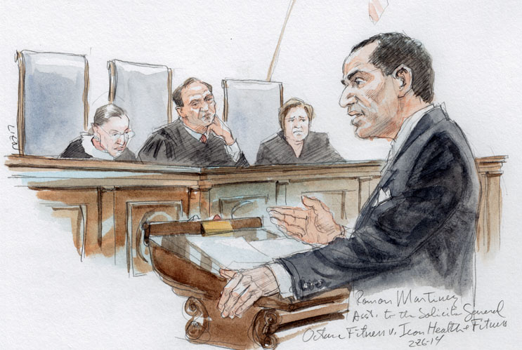 Roman Martinez, Asst. to the Solicitor General, as amicus (Art Lien)