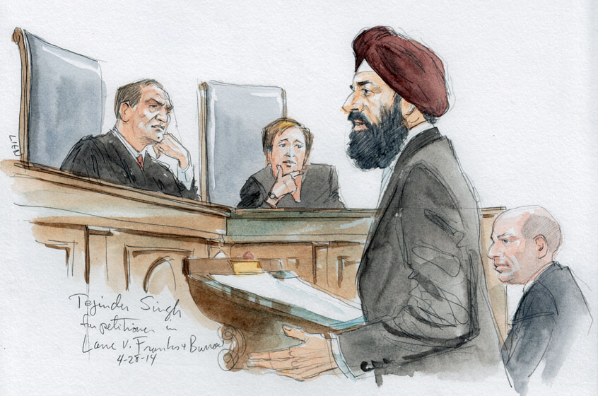 Tejinder Singh for arguing for Edward Lane (Art Lien)