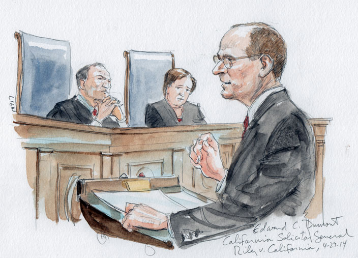 California Solicitor General Edward Dumont (Art Lien)