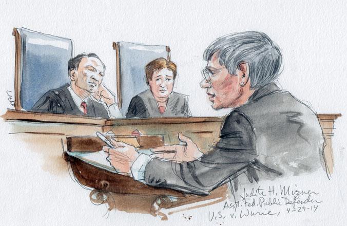 Assistant Public Defender Judith H. Mizner (Art Lien)