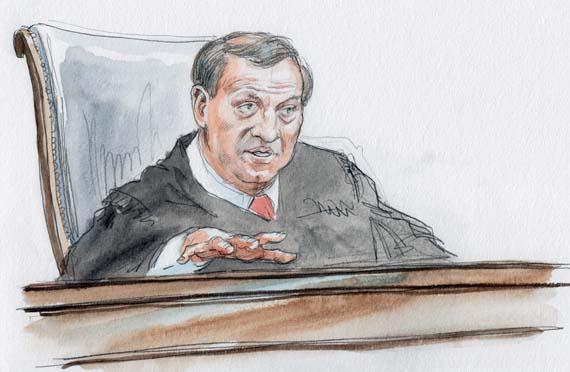 Justice Alito (Art Lien)