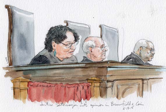 Justice Sotomayor,  Brumfield v. Cain (Art Lien)