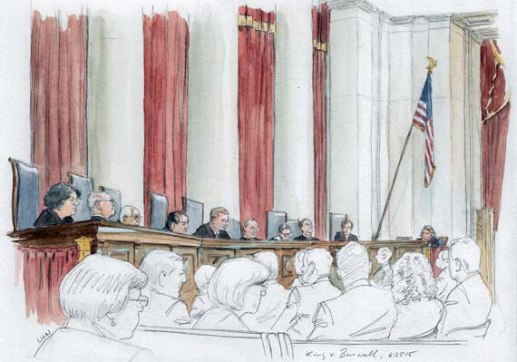Opinion: King v Burwell, No. 14-114 (Art Lien)